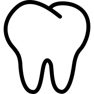 tooth-outline_318-46885